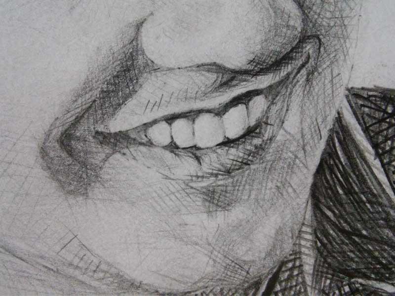 Taramın portre üzerinde uygulanması