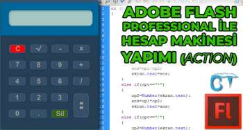 Adobe Flash İle Hesap Makinesi Yapımı (ActionScript)